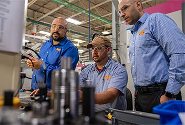 Sandvik Coromant employees work with TDM to save costs.