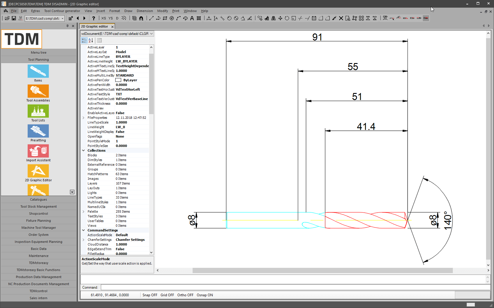 TDM Systems - TDM 2D-Graphic Editor